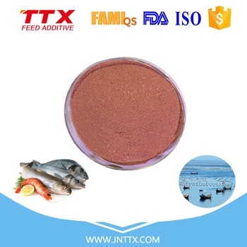 Aquatic feed and animal feed additives fish flavor induced real taste