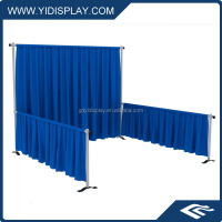 YIDISPLAY Party decoration pipe and drape backdrop, cheap pipe drape for sale