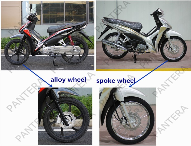 2017 New Disc Brake Gasoline Bike 110cc Motorcycles For Sale