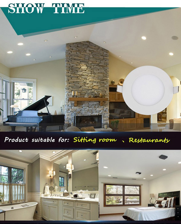 lowest factory price round panel surface mounting led dimmable decorative led ceiling light