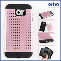 [GGIT] Hot Sale Radiating Case for Samsung, Combo Case Cover for Galaxy S6
