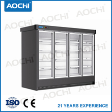Quality commercial supermarket walk in multideck display freezer/display chiller/glass door freezer