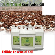 Flavour additives Edible Essential Oils Star Anise Oil Price with 95% Anethole