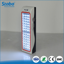 Staba high brightness IP65 7W ourdoor led portable rechargeable emergency lamp
