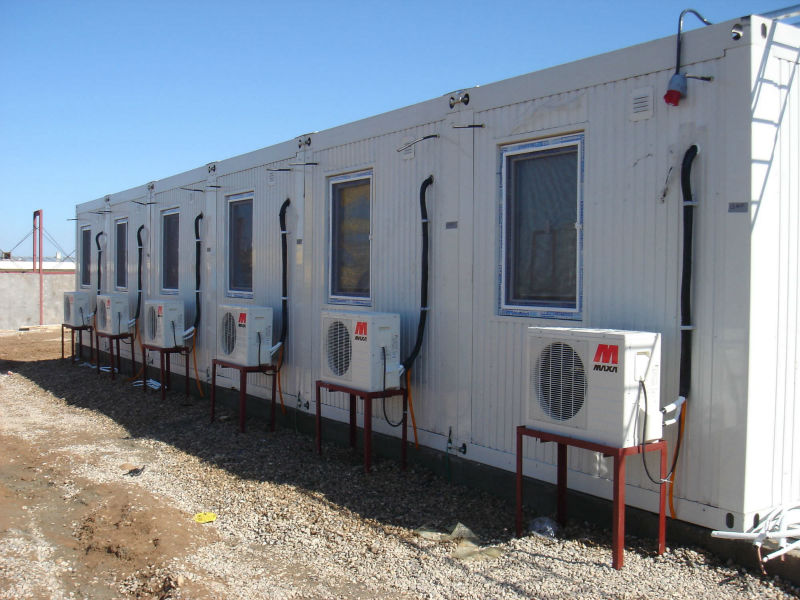 shipping low cost movable modern economic prefabricated houses and villas