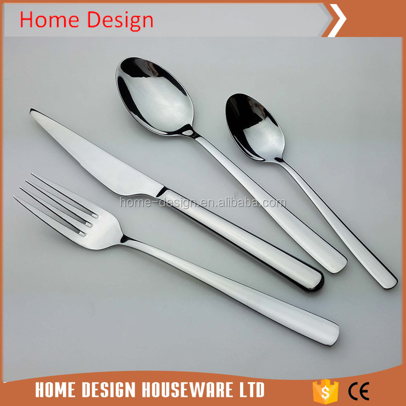 Chinese stainless steel high class liou cutlery set wholesale