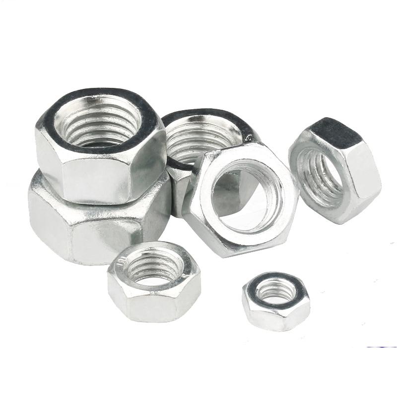 50 pieces M4 M5 M6 zinc-hexagonal drive head screw For wood thread insert nut G4