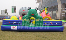 with high reputation durable ocean world fun city for sale inflatable with CE EN71 approved for outdoor use