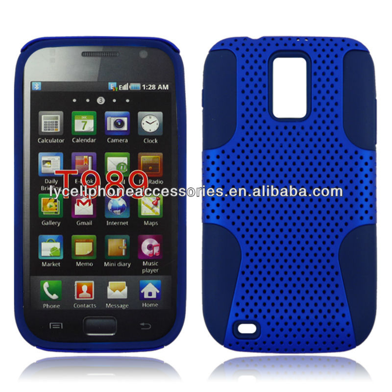 For Samsung Hercules T989 Hotsale Mobile Phone Mesh Combo Cover
