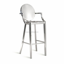 wholesale Stainless steel polishing dining kong philippe starck chair