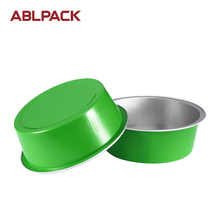 ABL 150ML/5oz Round Pet Food Container Used Aluminum Dog Boxes