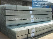 galv floor metal bar grilles, galv drain grating, galv metal bar grating