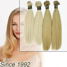 wholesale New Products Fashionable Human 613 Wavy Brazilian Remy Hair Blonde