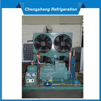Open Type piston Screw Compressors Cold Storage Refrigeration Condensing Units