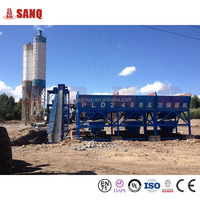 Buy The plant for produce concrete 90 m3/h HZS90 Famous brand, CE certificate ready mixed concrete batching plant china