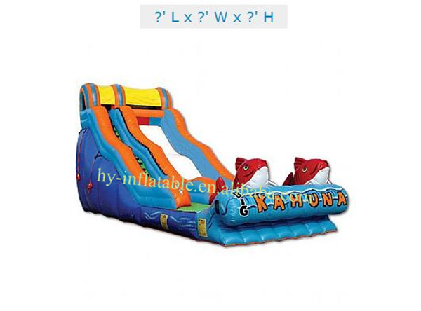 big kahuna inflatable water slide for sale