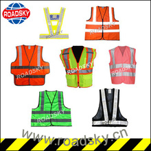 Traffic Work High Visibility Reflective Security Vests