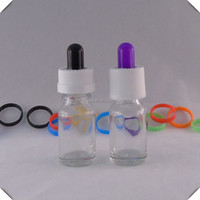 Alibaba crystal perfume glass bottle 10ml 50ml with dropper for e juice