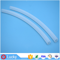 Eco-friendly FDA Approved Low Coeffictient of Friction Plastic Teflon PTFE Pipe for Food and Beverage Processing