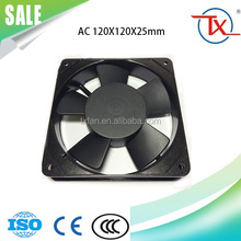 AC Fan 120V 120mm x 25mm AC High Air Flow Cooling Fan 12025 With High Efficiency