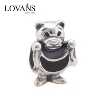 Animal Bear Beads For Sale 925 Sterling Silver Jewelry Charms Wholesale For European Bracelet And Bange YZ704
