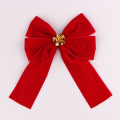 how to make a christmas bow out of ribbon