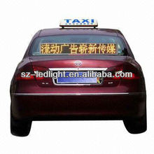 digital car led moving message display board