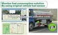Fue level monitoring solution for heavy truck and construction machine