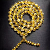 7mm Golden Rutilated Quartz gemstone round beads bracelet jewelry
