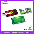 Promotional Custom USB Flash Drive Credit Card 4GB 8GB 16GB full color printing