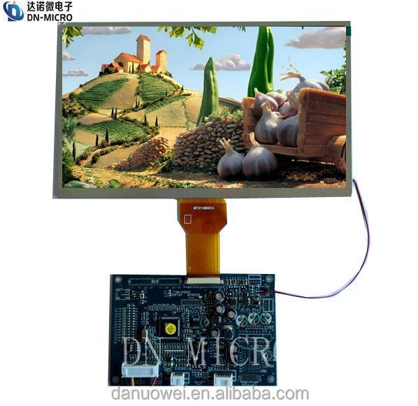 cheap price 10.1 inch 1024x600 TFT LCD Module for doorphone
