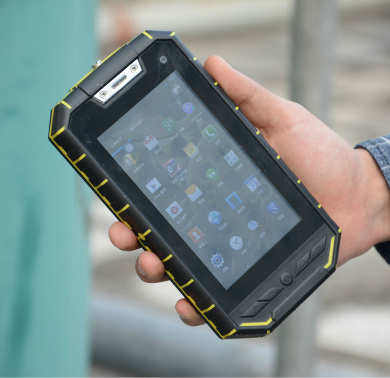 Cheapest 5.0 inch Quad-core IP68 Rugged Android Tablet with NFC , IPS screen , GPS , WIFI , Boletooth