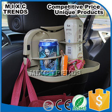 Hot Sale Back Seat Drink Holder Multi-purpose Car Folding Food Tray