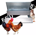 FRD-5kg Strong Galvanized Chicken Hen Treadle Feeder For Australian people