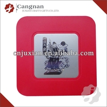 Promotion clear plastic coaster