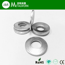 Carbon Steel White Zinc Plated Conical Spring Washer DIN6796