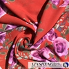 wholesale flower pattern 100%Polyester paper printing chiffon fabric