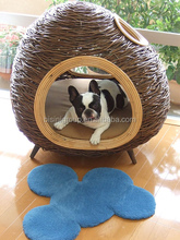 Pet shop PE rattan dog house (BF10-R729)