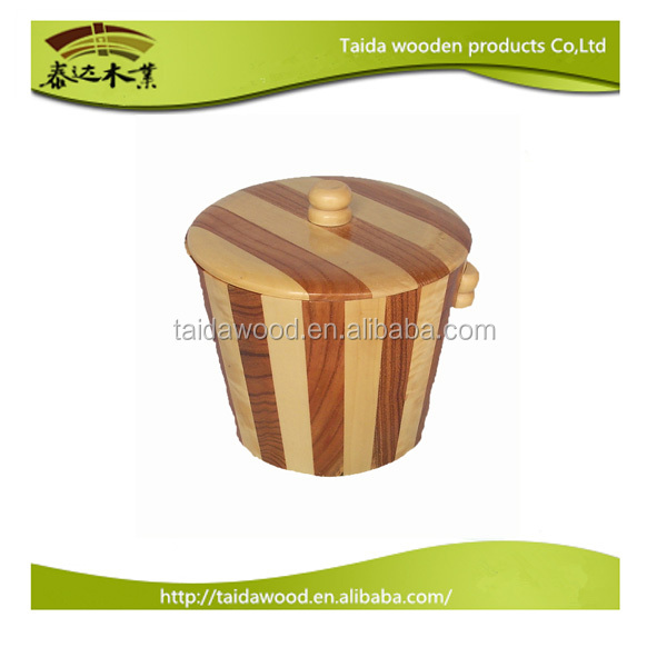 Best selling wooden pickle barrel