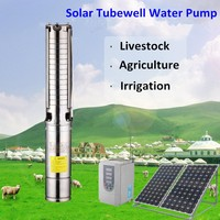china supplier deep well to solar pump kit pond pumps solar powered