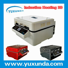 yuxunda newly patent induction heating 3D sublimation printer for iphone 5