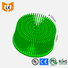 cold forging technology cooling 140mm citizen cob led heatsink with round shape