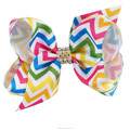 4 Inch Fashion Beautiful Rainbow Bows For Girls With Clips BH1536-X