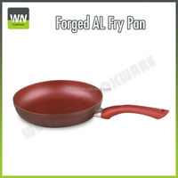 Fashion and Beautiful Aluminum Frying Pan with Silicon Handle(WNFAL-3031)