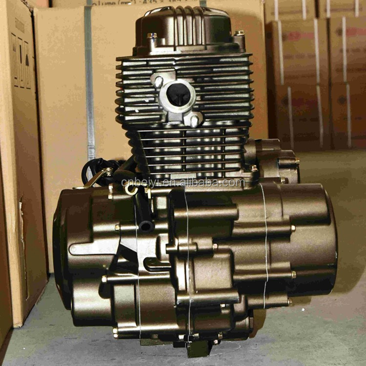 Single Cylinder Four Stroke 150cc Air-Cooled Powerful Engine Parts For Tricycle