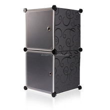 Two cube multifunction home appliance storage