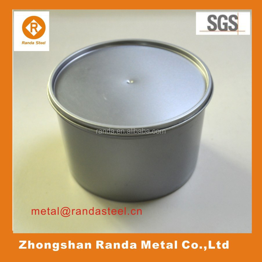 Empty Vacuum Sliver Ink Cans for filling printing inks