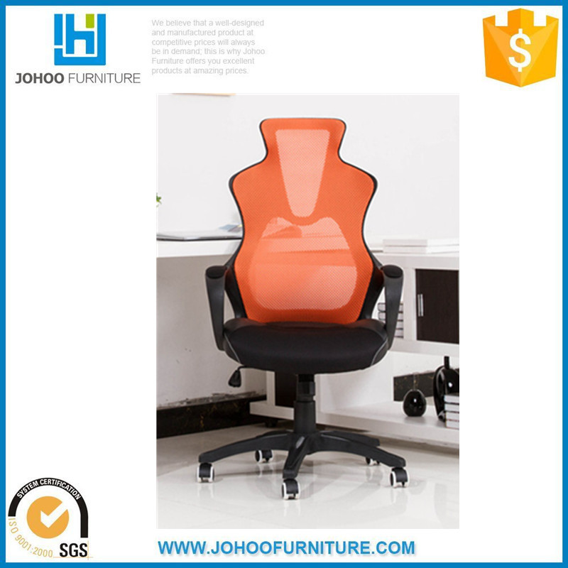 Q21 China Manufacturer Cyber Cafe Furniture High Back Swivel Ergonomic Mesh Cyber Cafe Racer Gaming Chair with Wheel Base