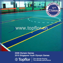 Quality premium athletic pvc basketball flooring in stock
