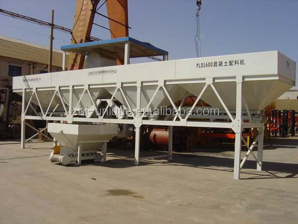 2016 Most Popular HZS50 Stationary Concrete Batching Plant Price